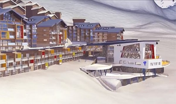 Val thorens le club med passe 4 tridents alti mag - Club med val thorens ...
