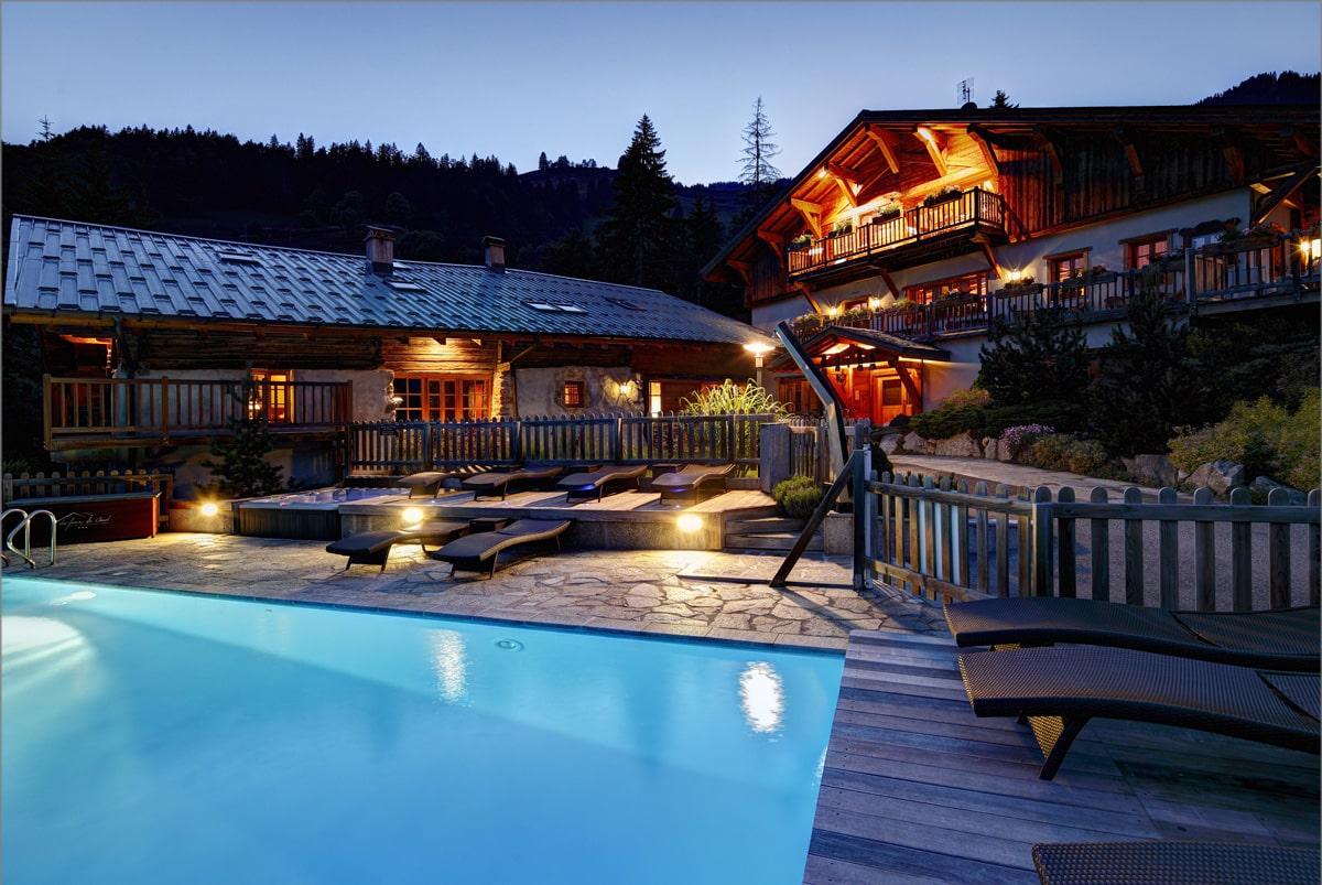 hôtels avec piscine à Hauteluce