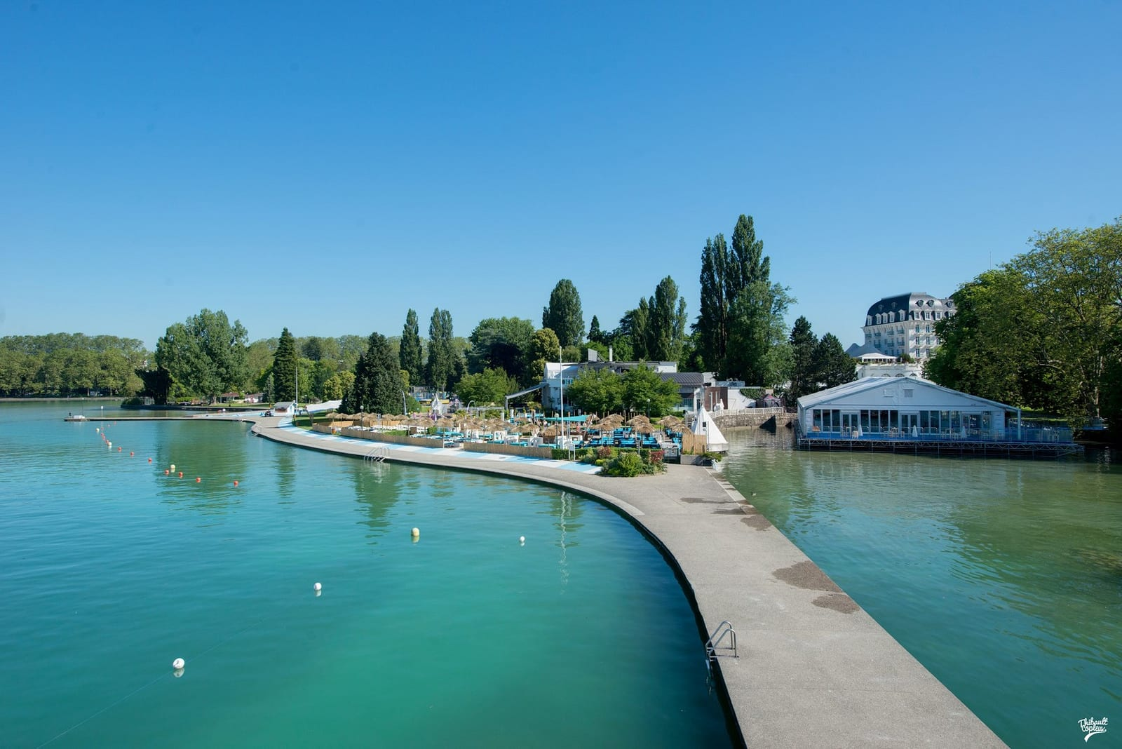 meilleures plages annecy
