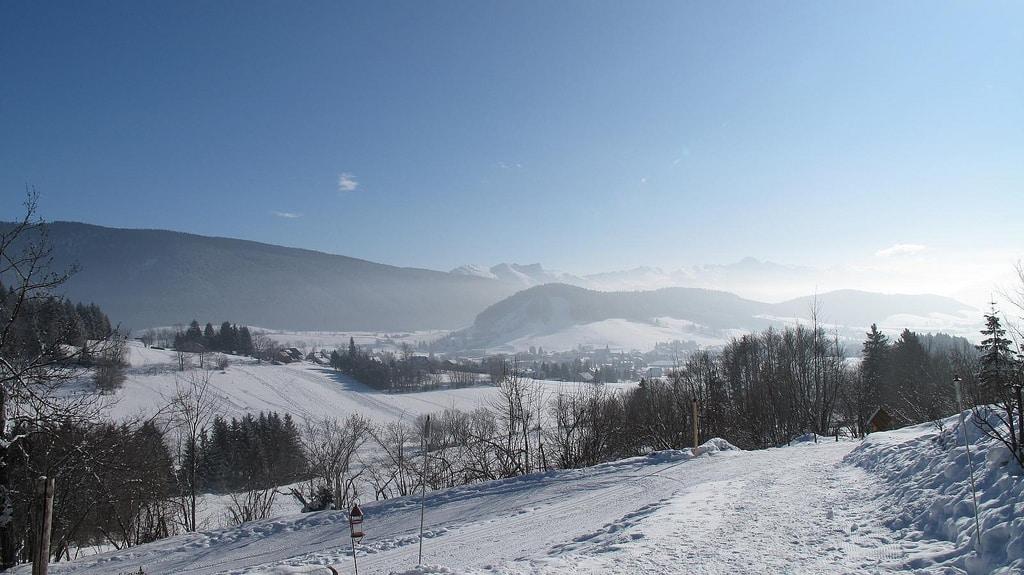 Autrans, domaine de ski de fond proche de Valence